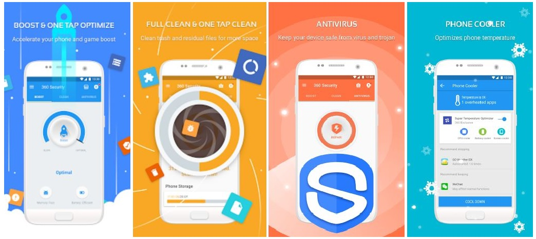 360 antivirus for android install