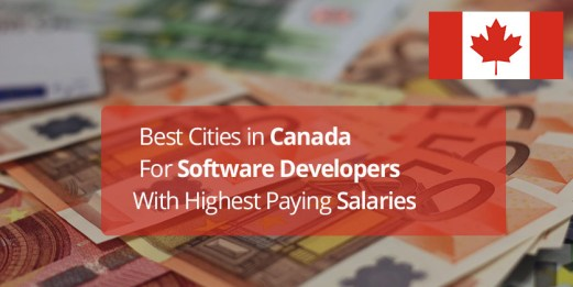 Best Software Developer Cities in Canada