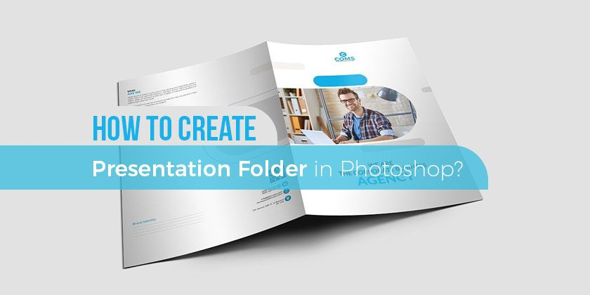 How To Create Presentation Folder Template In Photoshop Technig