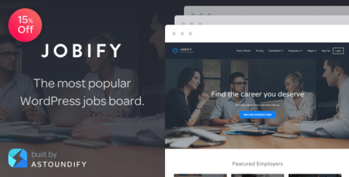 Jobify - The Most Popular WordPress Job Board Theme