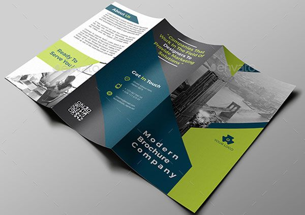 Top 15 hand picked business tri fold brochure templates of 2018 multipurpose business tri fold brochure flashek Choice Image