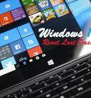 Reset Lost Windows 10 Password with Command Line - Technig
