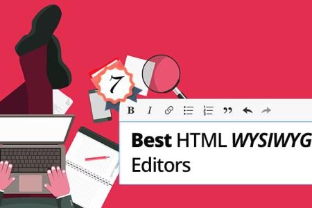 Top 7 Best WYSIWYG HTML Editor with JavaScript - Technig
