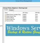 Backup Group Policy Objects on Windows Server 2016 - Technig