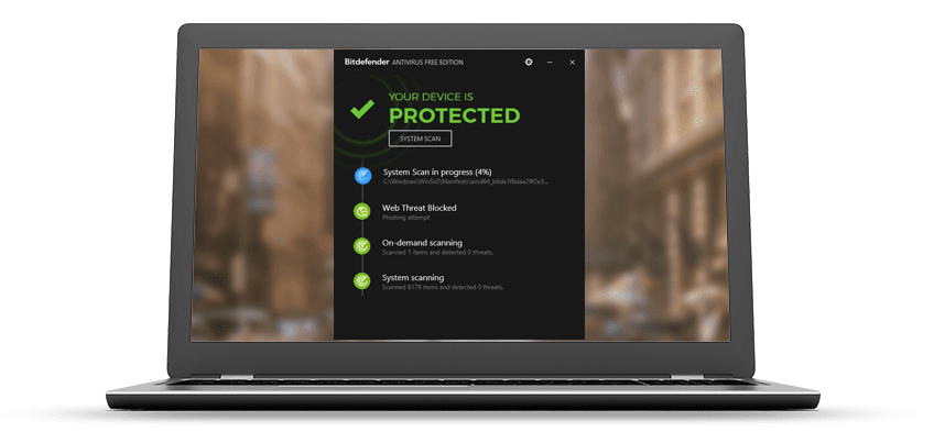 Bitdefender Antivirus Free Edition - Technig