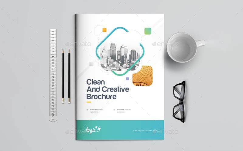 Company Brochure Template - Technig