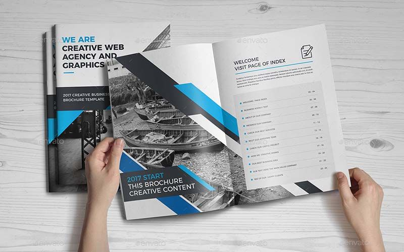 Best 15 hand picked print ready business brochure templates for 2018 company business brochure template technig wajeb Images