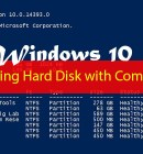 How to Manage Hard Disk using Command Line in Windows 10 - Technig
