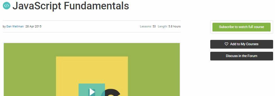 Learn JavaScript with Tutsplus Online courses -Technig