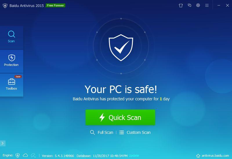 Baidu Best Free Antivirus Software 2018 - Technig