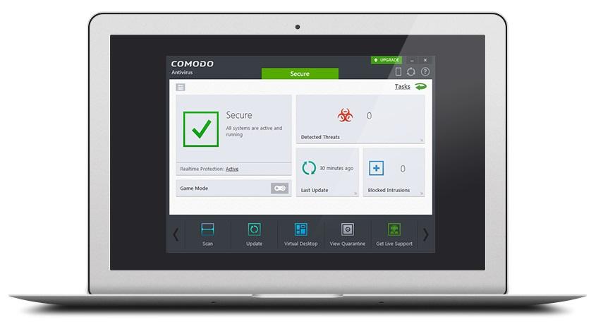 Comodo Best Free Antivirus Software 2018 - Technig