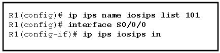 Cisco IPS Configuration