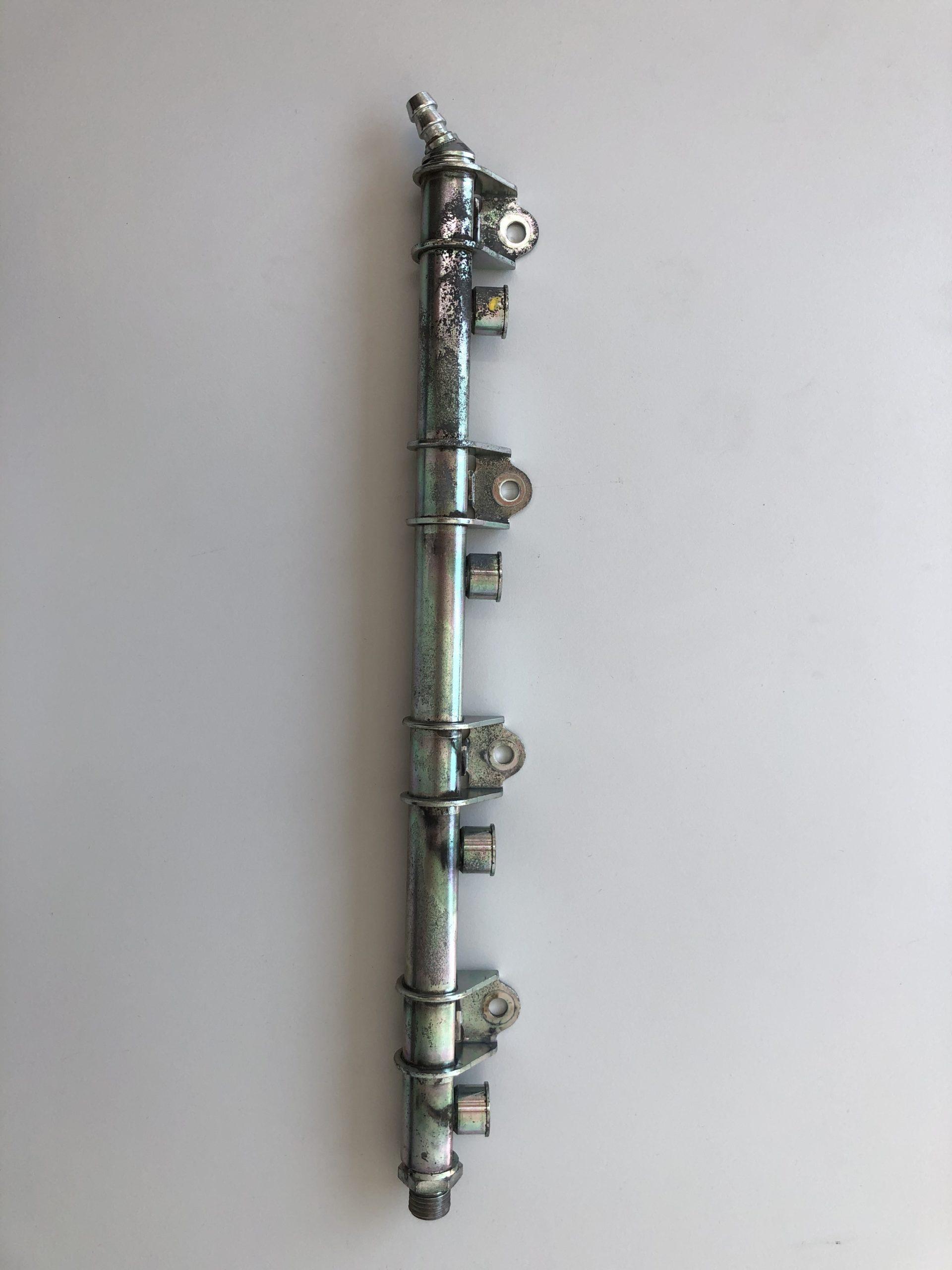 Einspritzleiste Delta Integrale 8V , mit und ohne Kat.Gebraucht, Ultraschall-gereinigt und verpackt.