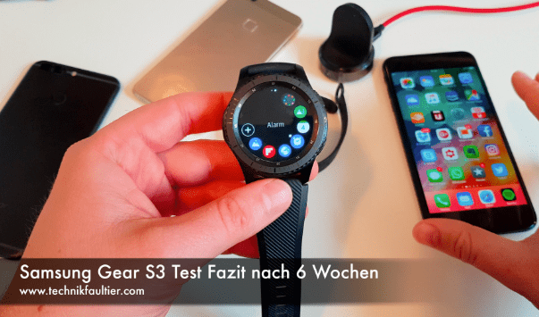 samsung gear s3 test fazit nach 6 wochen technikfaultier. Black Bedroom Furniture Sets. Home Design Ideas