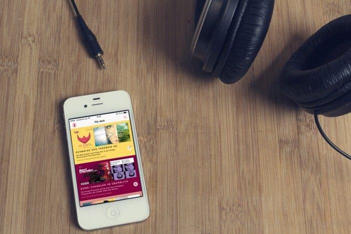 apple music ist soeben gestartet. Black Bedroom Furniture Sets. Home Design Ideas