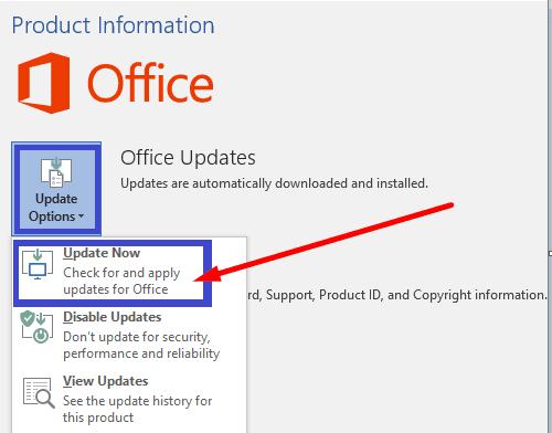 update microsoft office