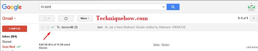 mailtrack confirmation