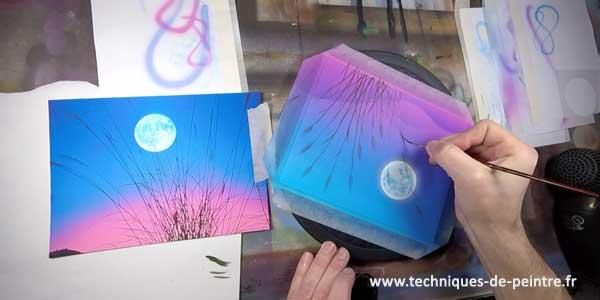 peindre-lune-acrylique-techniques-de-peintre