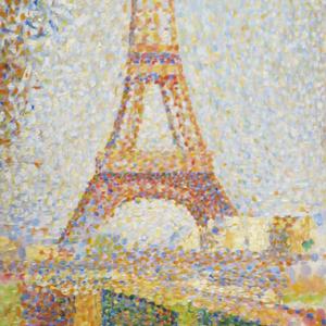La tour Eiffel de Georges Seurat-Pointillisme en mélange optique