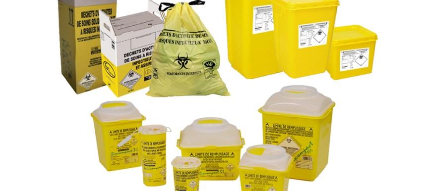 Collecte, banalisation et élimination de Déchets d'Activité de Soin à Risque infectieux