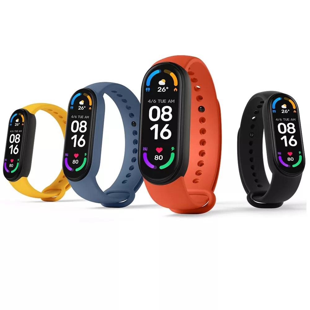 🔥 Cracked price of Xiaomi Mi Band 6 link bracelet at Banggood