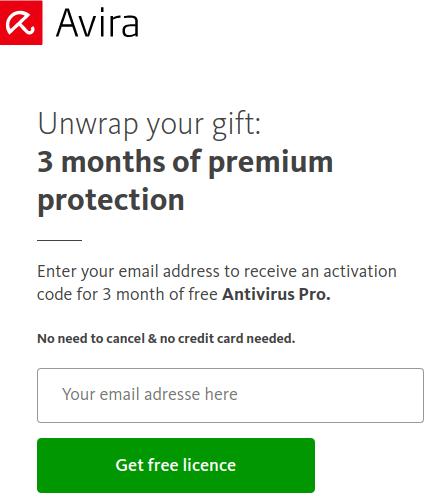 Avira Antivirus Pro giveaway