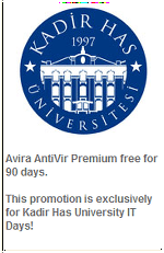 Free 90 days Avira Antivir Premium License