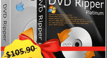 WinX DVD Ripper Platinum V8 8 with full functions Free License
