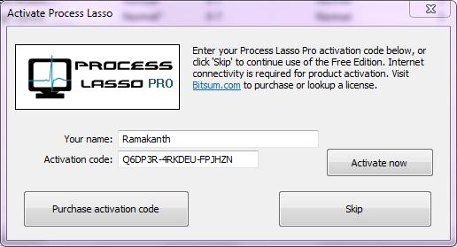 process lasso pro activation code