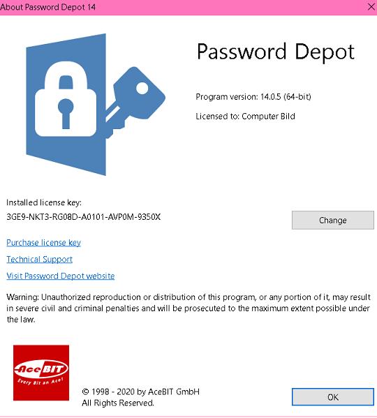 Password Depot license key