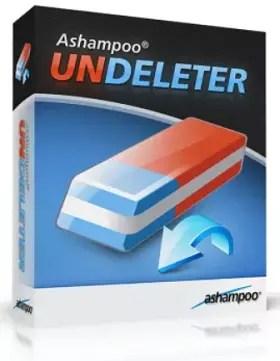 Ashampoo UNDELETER Box Shot