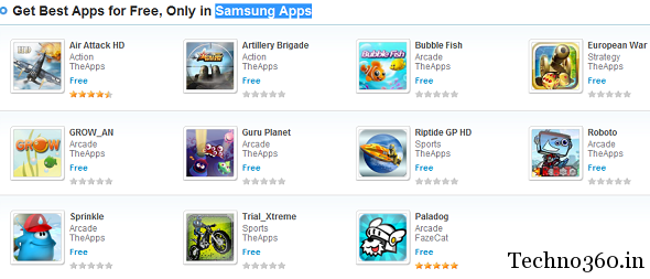 Samsung galaxy ace games for free