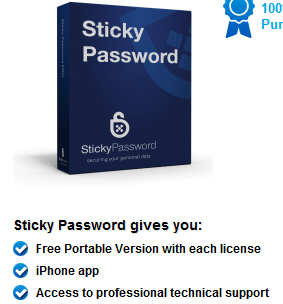 Sticky Password 8 Premium One year License for free [Worth $20]