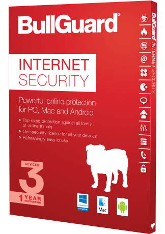 BullGuard Internet Security Free for 1 Year [Windows]