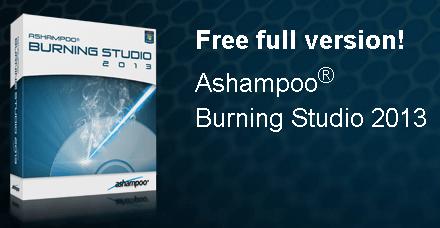 Ashampoo burning studio 2013 free full version