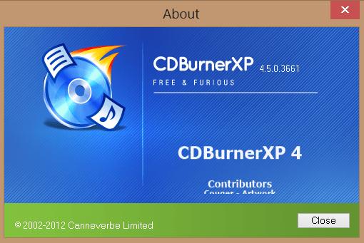 CDBurnerXP 4.5 final