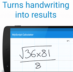 MyScript Calculator: Handwriting calculator App Free for iOS & Android