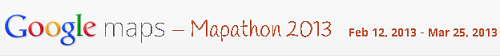Join Google Mapathon 2013, Win Android tablets,Phones and More