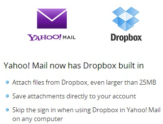 dropbox integrated in to dropbox