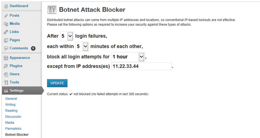 botnet attack blocker