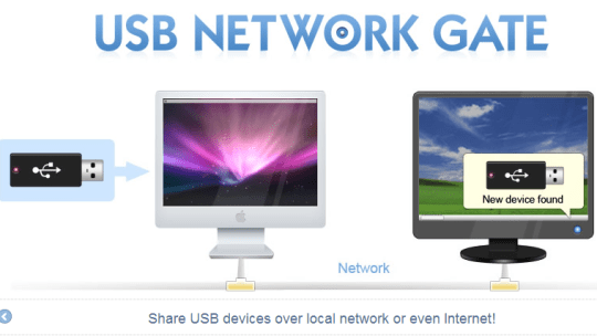 USB Network Gate :  Share or Connect USB over Network