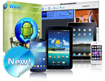 WinX Mobile Video Converter Review [Giveaway]