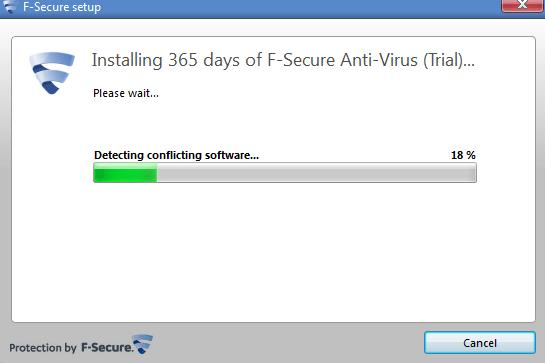f-secure antivirus 365 days trail