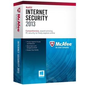 McAfee Internet Security 2013 Free for 1 year