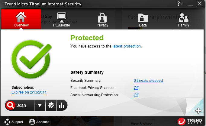 Trend Micro Titanium Internet Security 2014