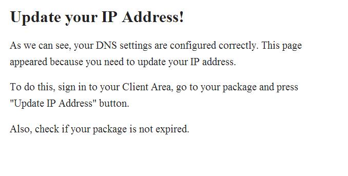 smart dns update your ip address