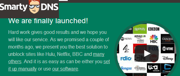 smarty DNS launched