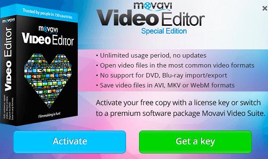 movavi video editor special edition