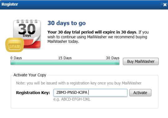 MailWasher Pro 7.3 license key