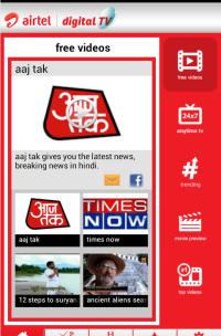 Download Airtel Pocket TV app
